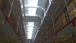 HD2009-11-1-24 Alcatraz prison cells Stock Video Footage