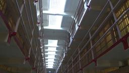 HD2009-11-1-24 Alcatraz prison cells Stock Video Footage