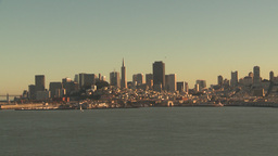 HD2009-11-1-34 San fran cityscape Stock Video Footage