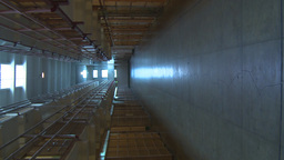 HD2009-11-1-40 Alcatraz prison cells Vertical Stock Video Footage