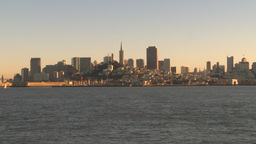 HD2009-11-2-1 San Fran City by boat Footage