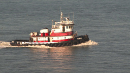 HD2009-11-2-9 tugboat Stock Video Footage