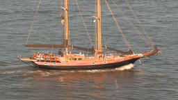 HD2009-11-2-13 sailboat Stock Video Footage
