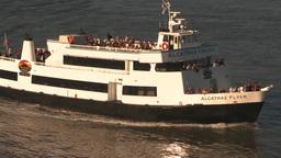 HD2009-11-2-15 alcatraz cruise ferry Z Stock Video Footage