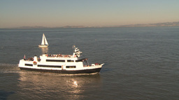 HD2009-11-2-15 alcatraz cruise ferry Z Stock Video Footage