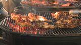 HD2009-11-2-17 BBQ Chicken stock footage