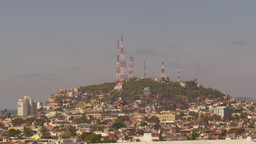 HD2009-11-3-5 Mazatlan TV towers Footage