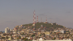 HD2009-11-3-5 Mazatlan TV towers Stock Video Footage