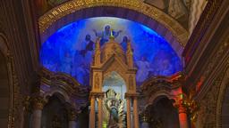 HD2009-11-3-17 church int beautiful Stock Video Footage