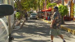 Maza street Stock Video Footage