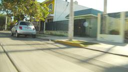 driving along Maza street Stock Video Footage