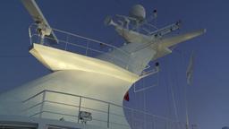 HD2009-11-3-27 ship mast evening Stock Video Footage
