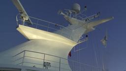 HD2009-11-3-27 ship mast evening Footage