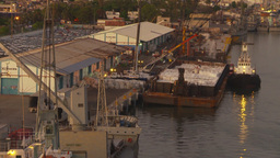 HD2009-11-3-31 ships in port Stock Video Footage