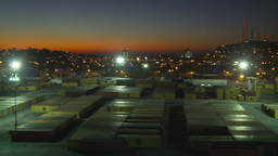 HD2009-11-4-14 Mazatlan night pan Stock Video Footage