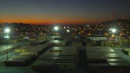 HD2009-11-4-14 Mazatlan night pan Stock Video Footage