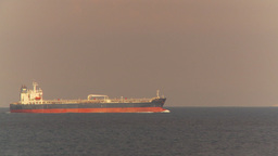 HD2009-11-5-4 Cargo ship at sea Footage