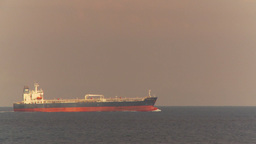 HD2009-11-5-4 Cargo ship at sea Stock Video Footage