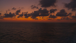 HD2009-11-5-14 ocean at sunset Stock Video Footage