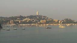HD2009-11-5-23 Aculpoco harbor pan Stock Video Footage
