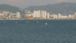 HD2009-11-5-36 Aculpoco skyline and beach Stock Video Footage