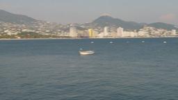 HD2009-11-5-38 Aculpoco skyline and beach pan Stock Video Footage