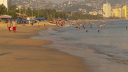 HD2009-11-7-27 Aculpoco bay beach Stock Video Footage