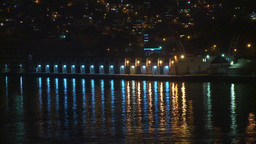 HD2009-11-7-35 Aculpoco lights refelct on water Footage