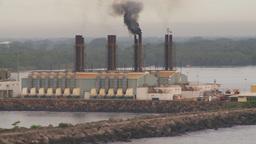 HD2009-11-8-2 industry, power gen smoke Stock Video Footage