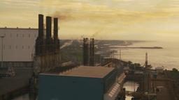 HD2009-11-8-8 industry, power gen Stock Video Footage