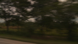 HD2009-11-8-18 drive along country guatemala Stock Video Footage