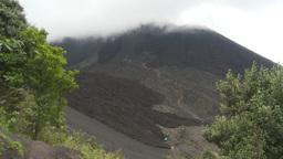 HD2009-11-8-24 guatemala people hiking volcano trail Footage