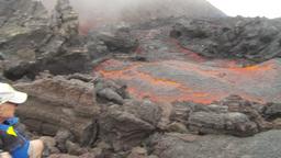 HD2009-11-8-28 guatemala lava Footage