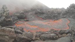 HD2009-11-8-28 guatemala lava Stock Video Footage