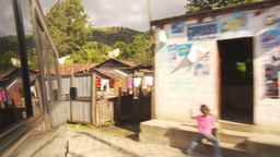 HD2009-11-8-33 guatemala drive through small village Footage