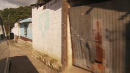 HD2009-11-8-33 guatemala drive through small village Stock Video Footage