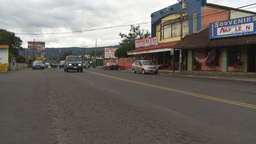 HD2009-11-11-17 traffic Costa rican town Footage