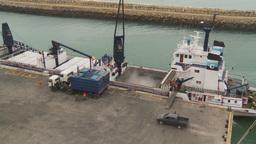 HD2009-11-12-9 refrig unloading tuna Footage