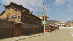 HD2009-11-13-3 small village Ecuador Stock Video Footage