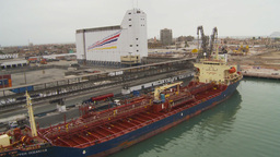 HD2009-11-14-27 cargo ship Footage