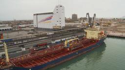 HD2009-11-14-27 cargo ship Stock Video Footage