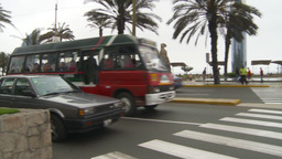 HD2009-11-15-6 Lima traffic Stock Video Footage