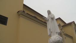 HD2009-11-15-22 virgin mary statue Footage