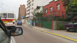 HD2009-11-15-32 drive through Lima Footage
