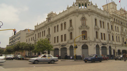 HD2009-11-15-44 lima traffic Stock Video Footage