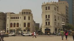 HD2009-11-15-48 streetlife Lima Stock Video Footage