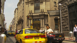 HD2009-11-15-52 traffic and street pan Stock Video Footage