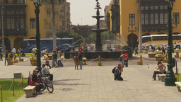 HD2009-11-15-60 Plaza de Armas Lima Stock Video Footage