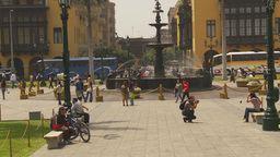 HD2009-11-15-60 Plaza de Armas Lima Footage