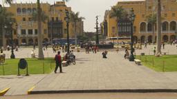 HD2009-11-15-60 Plaza de Armas Lima Stock Video Footage